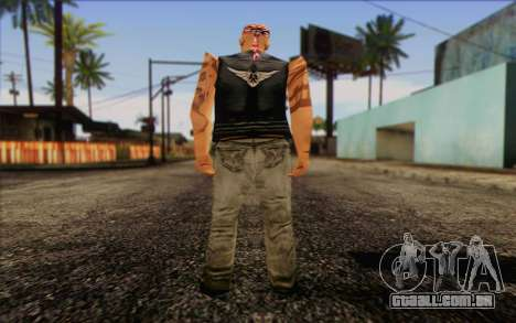 Biker from GTA Vice City Skin 1 para GTA San Andreas segunda tela