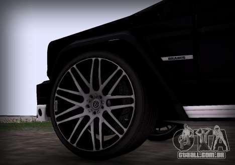 Brabus 800 para GTA San Andreas vista direita