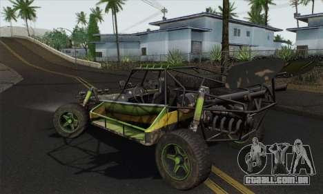Devilbwoy Buggy para GTA San Andreas esquerda vista