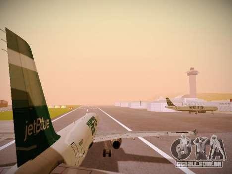 Airbus A321-232 jetBlue NYJets para GTA San Andreas