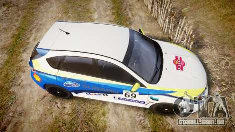 Subaru Impreza Cosworth STI CS400 2010 Custom para GTA 4 vista direita