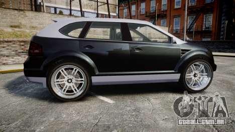 GTA V Vapid Radius para GTA 4 esquerda vista