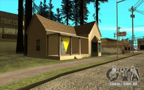 Novo CJ casa em Angel Pine para GTA San Andreas segunda tela