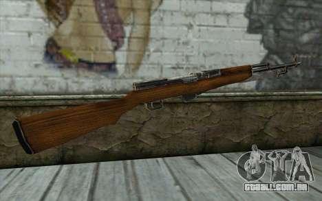 СКС (Battlefield: Vietnam) para GTA San Andreas segunda tela