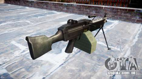 Luz metralhadora M249 SAW para GTA 4 segundo screenshot