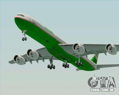 Airbus A340-600 EVA Air para o motor de GTA San Andreas