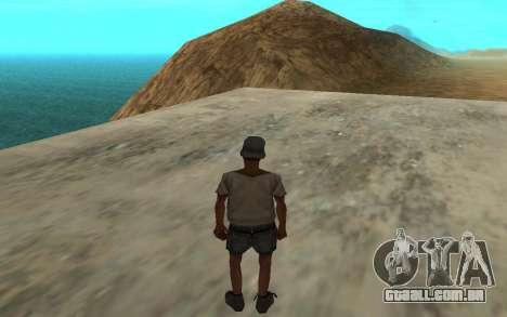 O uso automático de drogas para GTA San Andreas segunda tela