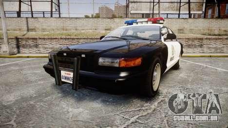 Vapid Police Cruiser MX7000 para GTA 4