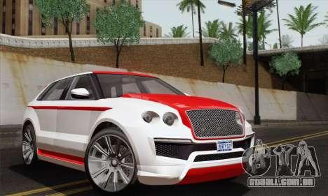 Huntley S para GTA San Andreas