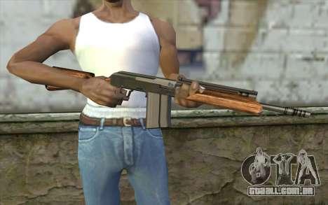 Saiga (Armas De Fogo) para GTA San Andreas terceira tela