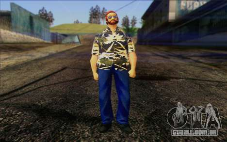Vercetti Gang from GTA Vice City Skin 2 para GTA San Andreas