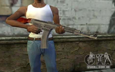 StG-44 from Day of Defeat para GTA San Andreas terceira tela
