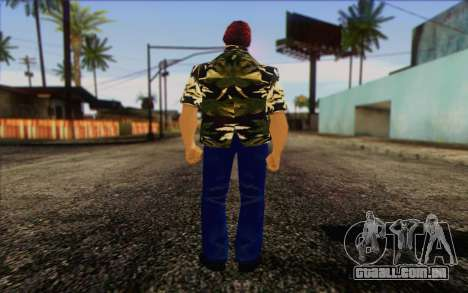 Vercetti Gang from GTA Vice City Skin 2 para GTA San Andreas segunda tela