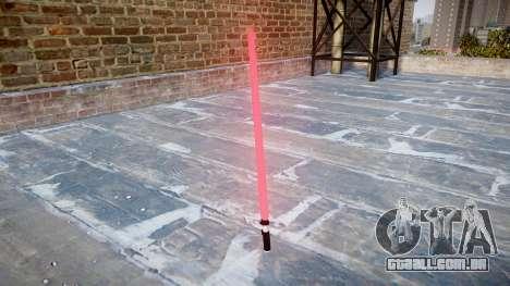 Laser espada para GTA 4 segundo screenshot