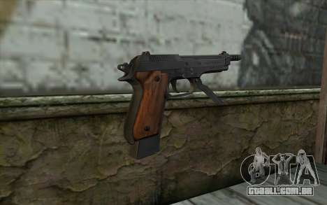 Beretta 93R para GTA San Andreas segunda tela