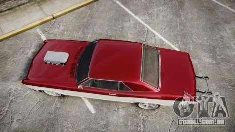 GTA V Albany Buccaneer Gen. II para GTA 4 vista direita