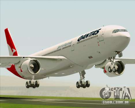 Airbus A330-300 Qantas (New Colors) para GTA San Andreas