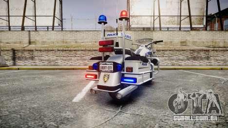 GTA V Western Sovereign LCPD [ELS] para GTA 4 traseira esquerda vista