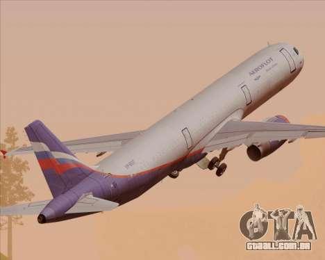 Airbus A321-200 Aeroflot - Russian Airlines para GTA San Andreas