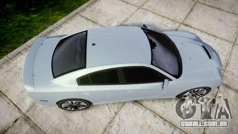 Dodge Charger SRT8 para GTA 4 vista direita