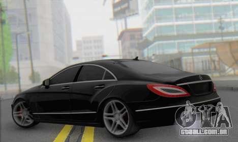 Mercedes-Benz CLS 63 para GTA San Andreas esquerda vista