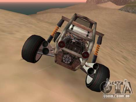 Atualizado Bandito para GTA San Andreas para GTA San Andreas traseira esquerda vista