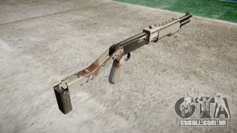 Ружье Franchi SPAS-12 Choco para GTA 4 segundo screenshot