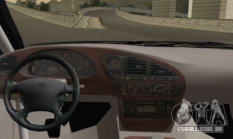 Ford Sierra Scorpion 4x4 RS Cosworth para GTA San Andreas traseira esquerda vista