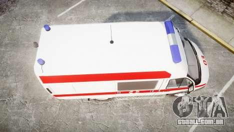 GÁS-32214 Ambulância para GTA 4 vista direita