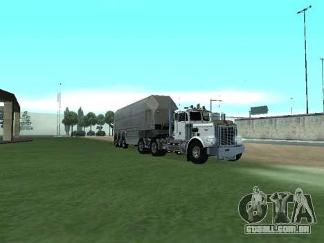 Box Glass Trailer para GTA San Andreas esquerda vista
