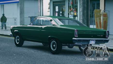 Ford Fairlane 500 1966 para GTA 4 esquerda vista