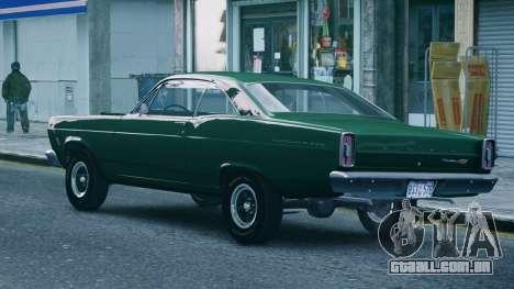 Ford Fairlane 500 1966 para GTA 4 esquerda vista
