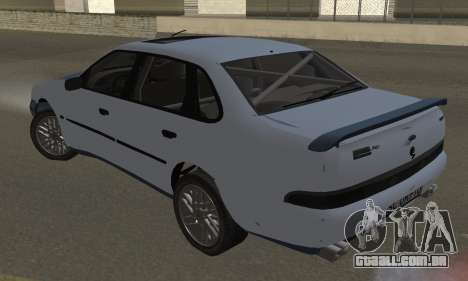 Ford Sierra Scorpion 4x4 RS Cosworth para GTA San Andreas esquerda vista