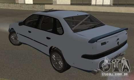 Ford Sierra Scorpion 4x4 RS Cosworth para GTA San Andreas esquerda vista