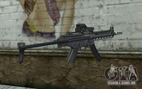 Silver MP5 para GTA San Andreas segunda tela