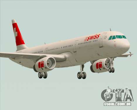 Airbus A321-200 Swiss International Air Lines para GTA San Andreas