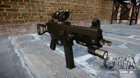 Arma UMP45 Kryptek Lutas para GTA 4