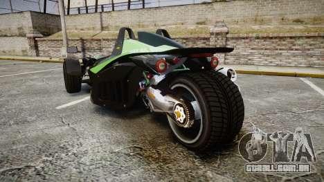 KTM Ducati para GTA 4 traseira esquerda vista