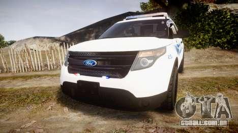Ford Explorer 2013 PS Police [ELS] para GTA 4