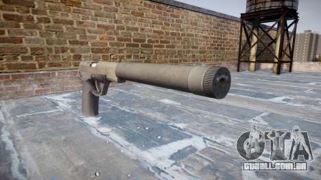 Arma QSZ-92 silenciador para GTA 4