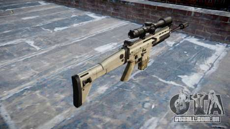 Rifle Mk 17 SCAR-H para GTA 4 segundo screenshot