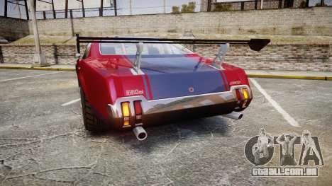 Declasse Sabre GT para GTA 4 traseira esquerda vista
