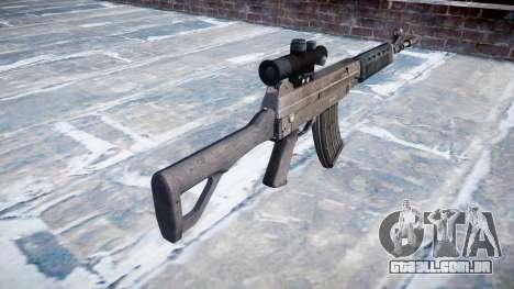 Máquina QBZ-03-1 para GTA 4 segundo screenshot