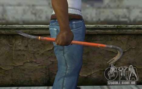 O Pé-De-Cabra (DayZ Standalone) para GTA San Andreas terceira tela