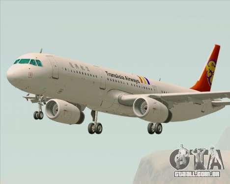 Airbus A321-200 TransAsia Airways para GTA San Andreas