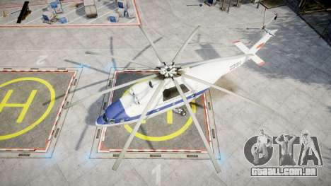 Mi-26 para GTA 4 vista direita