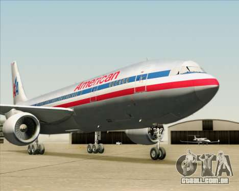 Airbus A300-600 American Airlines para o motor de GTA San Andreas