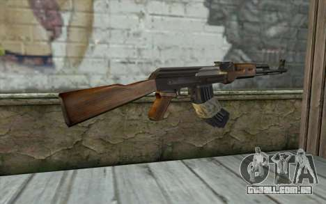 AK47 from Firearms v2 para GTA San Andreas segunda tela