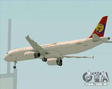 Airbus A321-200 TransAsia Airways para o motor de GTA San Andreas