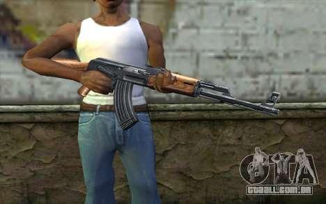 AK47 from Killing Floor v1 para GTA San Andreas terceira tela